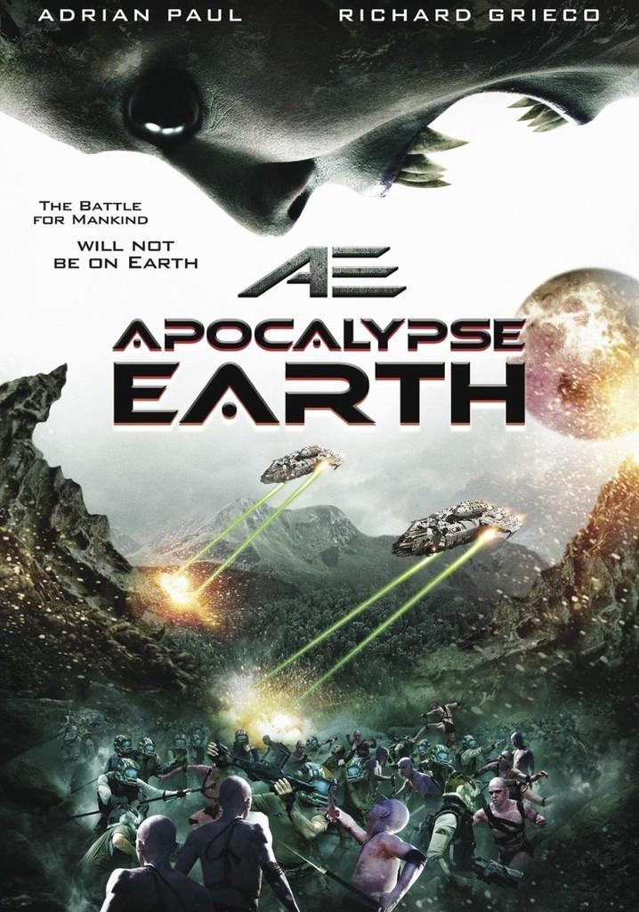 Where to watch AE: Apocalypse Earth