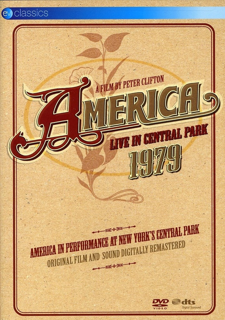 Where to watch America - Live in Central Park 1979