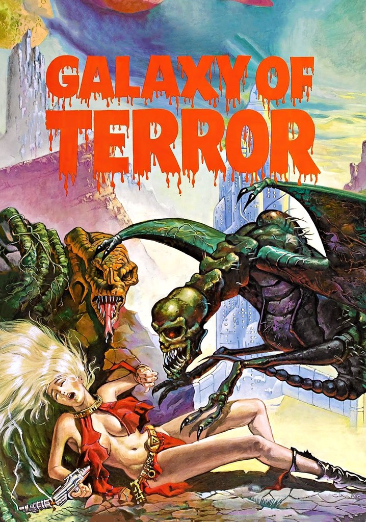 Where to watch Galaxy of Terror
