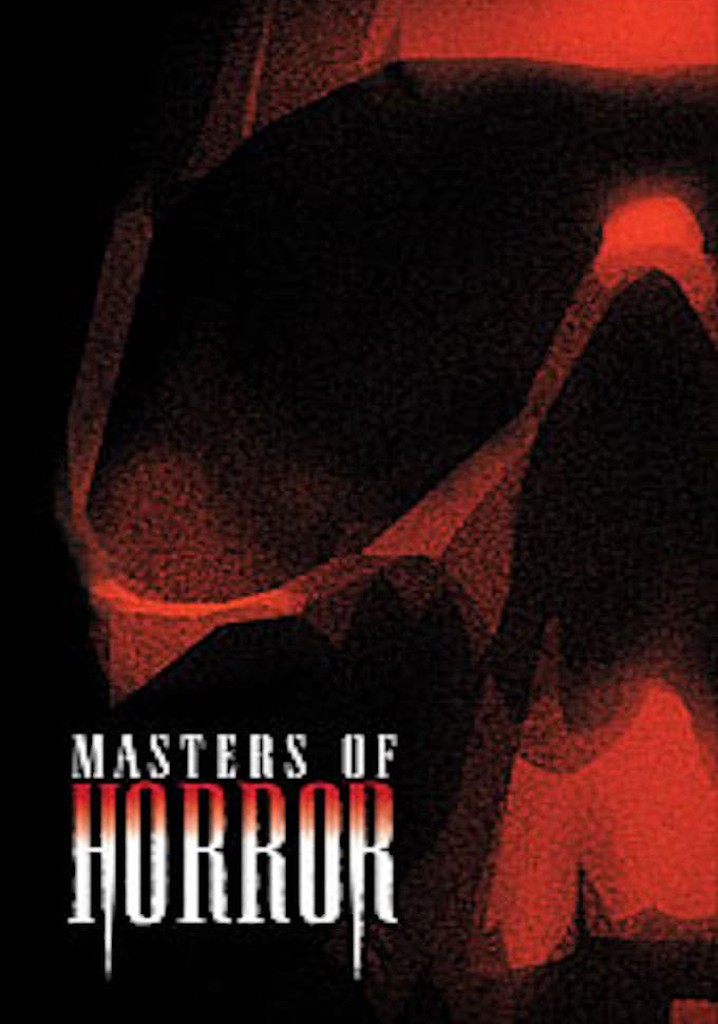 Where to watch Masters of Horror