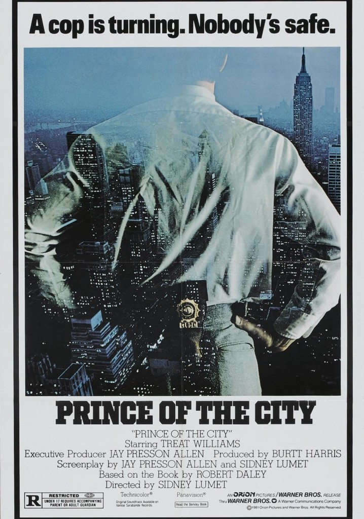Where to watch Prince of the City
