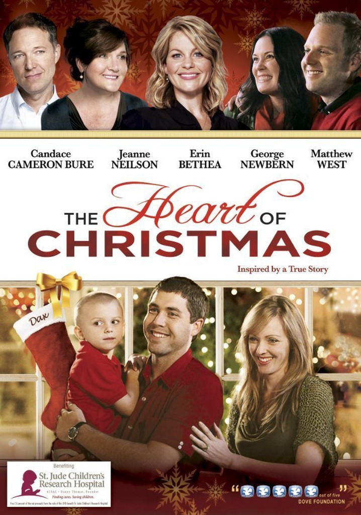 Where to watch The Heart of Christmas