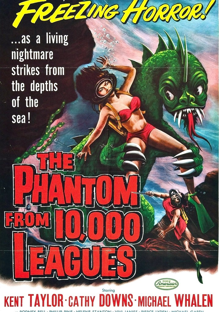 Where to watch The Phantom from 10,000 Leagues