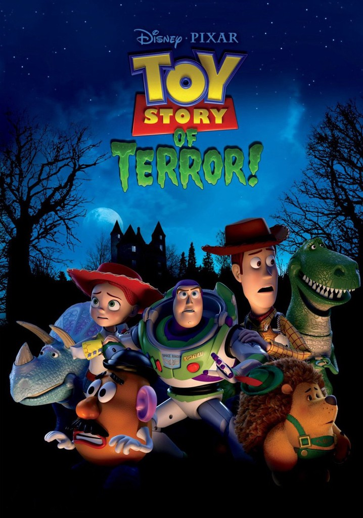 Where to watch Toy Story of Terror!