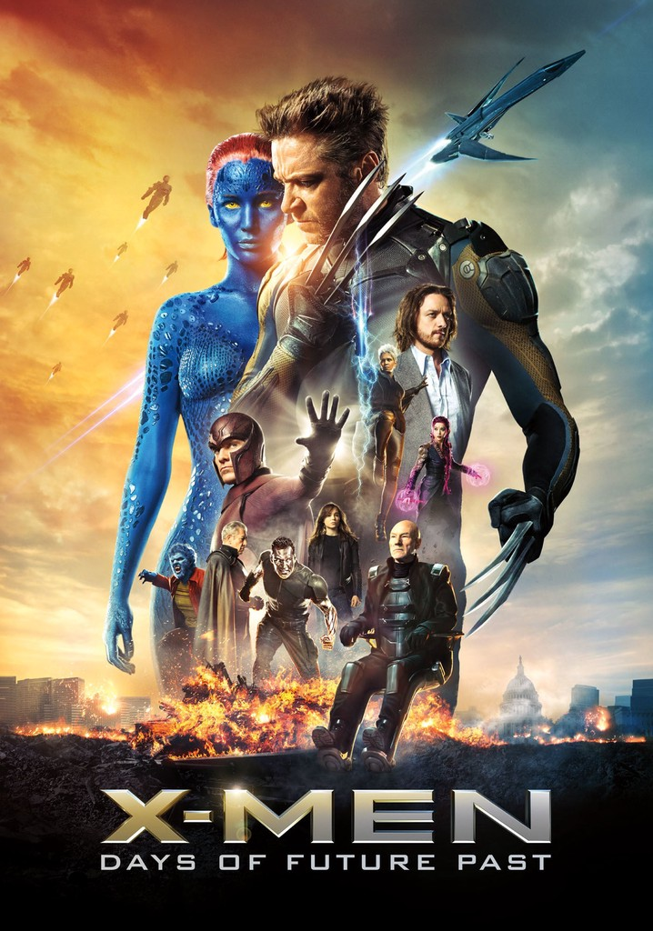 Where to watch X-Men: Days of Future Past